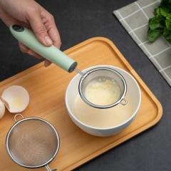 果汁过滤网筛 火锅捞勺 不锈钢漏勺--大号