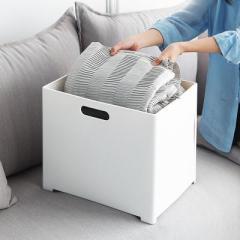 车载可折叠储物箱 居家衣物收纳整理筐--杏色(7022) 和汽车有关的礼品