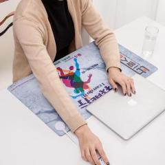 麦达琳可调温防水电热书写垫 暖桌垫--我能行(大号) 单位年会小礼品