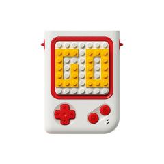 好有趣 POPFAN游戏机小风扇 DIY积木拼图游戏机造型风扇 迷你手持挂脖风扇 夏季礼品