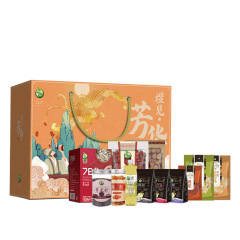 【煜见芳华-3174款】珍珠枣玫瑰花苦荞茶银耳干货礼盒 公司活动送什么