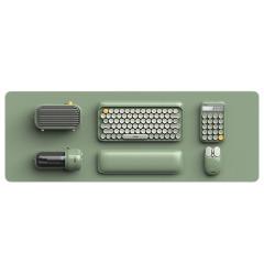 【LOFREE】半夏-陪伴套裝 藍牙機械鍵盤 無線鍵鼠套裝 鼠標墊手托計算器 筆記本電腦 辦公5件套  高檔禮品定制