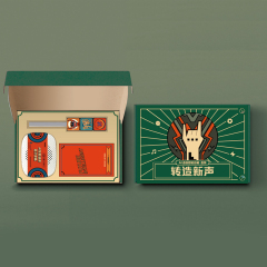 【转造新声】潮流数码礼盒两件套 蓝牙音箱+魔方数据线 具有中国特色的礼品