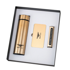 创意可定制商务礼盒套装10000毫安充电宝+停车牌+保温杯 公司周年礼物