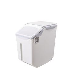 防潮塑料宠物储粮桶 大容量密封存储桶 宠物家居礼品