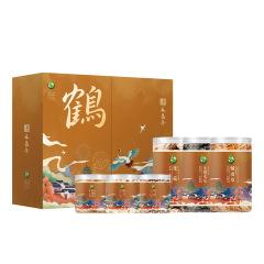 【煜见国潮】禾嘉年·鹤-限量款山珍干货礼盒 花菇+黑木耳+蛹虫草