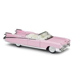 创意车载摆件1:18凯迪拉克1959Cadillac Eldorado Biarritz合金汽车模型 车载礼品定制