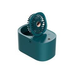 加湿器小风扇 桌面水冷降温补水迷你夜灯空调扇 夏季礼品