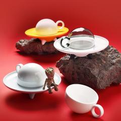 UFO CUP 飞碟杯 原创设计商务咖啡杯碟套装 企业礼品定制