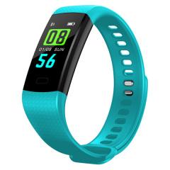 彩屏血壓心率手環 動態心率/卡路里/計步/感光屏幕運動手環 商務智能手環