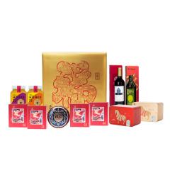 【年味·幸福里B1】坚果茶礼橄榄油年货礼盒套装 节庆礼品 公司年会奖品清单
