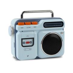 MOCO复古小音箱 无线蓝牙音响 时尚收音机外形便携音箱 有趣的礼品