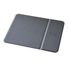 智能鼠標墊 無線充電游戲鼠標墊 電競包邊自帶支架墊 游戲公司禮品  創意科技禮品