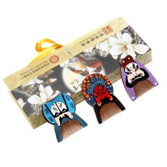 【京劇男臉譜】常州梳篦 送老外小禮物 特色紀念品