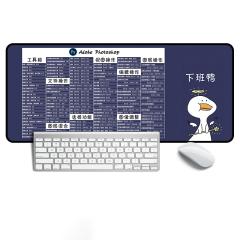 大号精密边创意电脑键盘办公桌快捷键桌垫 定制礼品有哪些