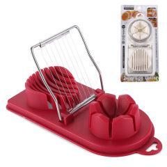 鸡蛋切片器厨房工具 切片切瓣多功能创意鸡蛋切片器 厨房精致礼品