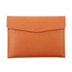 A4大容量磁扣文件袋 简约纯色办公用品收纳袋 办公周边礼品