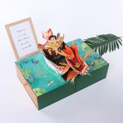 【现货空礼盒】2021端午节粽子包装礼盒 创意精美异型礼盒 端午节礼品