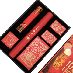 【和合如意】2020年鼠年创意对联红包套装 对联红包扑克 春节送什么礼品给客户