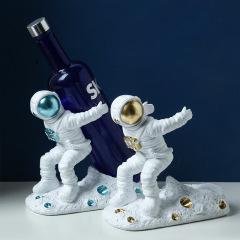 宇航员红酒收纳摆件 创意酒具 红酒促销礼品定制