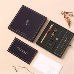 【经典版】商务时光钢笔礼盒 高档黄铜钢笔 高档商务礼盒