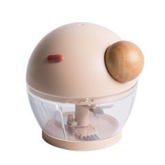 圓鼻子手動料理機 多功能絞肉器碎菜機 寶寶輔食機 廚房小助手 創意小產品