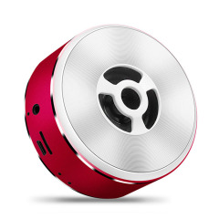 金属手感智能无线蓝牙音箱 低音炮迷你小音响 创意数码小礼品  送礼给客户