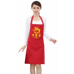 韩版定做纯色 促销广告围裙 定制logo礼品