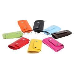 创意PU钥匙包 便携实用 活动小礼品有哪些