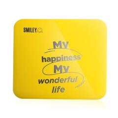 笑脸(SMILEY)精确智能四核体重秤 LED背光显示屏称重 电子健康小礼品