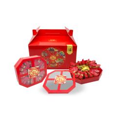 一盒团圆|坚果炒货新年食盒双盒装 新年礼盒 新年送什么礼品好
