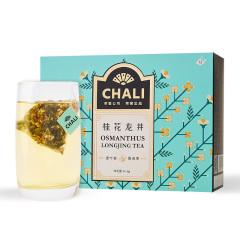 【桂花龙井】chali 12包茶包礼盒 培训礼品