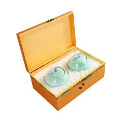 【臻传】德化青瓷釉色茶叶罐  高档商务礼盒