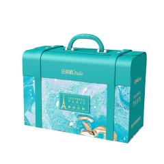 【法蒂欧】缤纷巴黎2021年春节法式年礼礼盒 松子+腰果+牛轧糖等 高档商务礼品可以送哪些