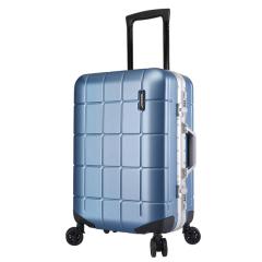【DUOLUPLO】多倫保羅20寸時尚網格紋拉桿箱 韓版登機箱 高端商務禮品