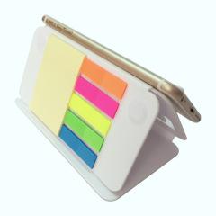 多功能可折疊手機座便簽本 手機支架便利貼 便攜禮品定制