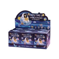 创意太空人盲盒手办摆件 月球小夜灯宇航员模型 礼品定制礼品
