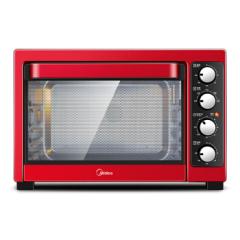 美的(Midea)電烤箱T3-381C 家用大容量 獨立控溫低溫發酵烘焙烤箱 企業禮品定制