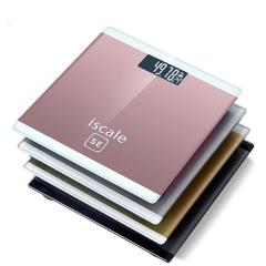 电子体重秤高灵敏压力传感器 钢化玻璃安全圆角 家装购物节广告礼品