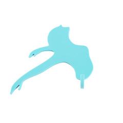 创意芭蕾舞抹布挂钩 厨房卫生间清洁布挂钩 小礼品有哪些