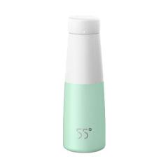 洛可可(LKK)55°创意实用杯盖可当杯子丽口保温杯 经济实用