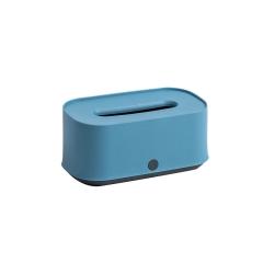 简约配色纸巾盒 抽纸盒收纳磨砂工艺手感舒适  定做广告小礼品