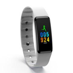 DIDO彩屏触控血压手环 升级版游泳计步心率智能手环  组会年终奖奖品 比赛实用奖品