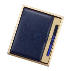 A5仿皮笔记本礼盒 笔记本+签字笔 拓展活动准备什么奖品