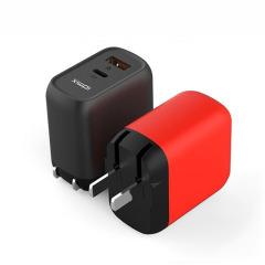 IDMIX(大麦) 苹果PD充电器 18W充电插头 QC+PD双口快充  实用礼品定制 家居礼品必备