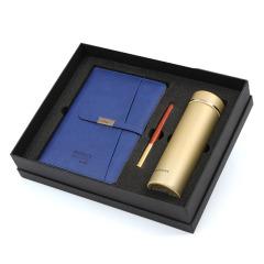皮面可充电活页笔记本 三合一礼盒套装 高档商务礼品