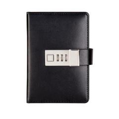 口袋本 马卡龙便携式密码笔记本 创意带锁小清新笔记本 简约密码本记事本