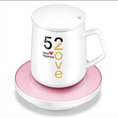 恒温加热器约55度杯子保温底座杯垫电热暖杯碟  实用的奖品