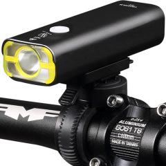 400流明 自行车灯车前灯手电筒强光充电山地车照明灯