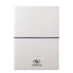 A5简约纯色绑带笔记本 PU皮可定制logo办公记事本 笔记本礼品定制